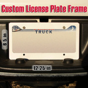Tougaloo Plate - License Plate Frame